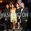 Photo by Tony Powell. Esai Morales, Giselle Iti, Merel Julia, Felix Sanchez. Noche de Gala 2010. Mayflower Hotel. September 14, 2010
